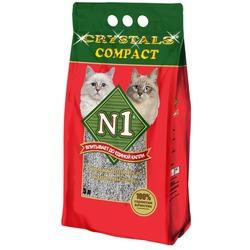 №1 Наполнитель кошачий Crystals compact