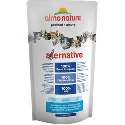 Almo Nature Alternative Корм со свежим осетром (55 % мяса) для кошек (Alternative Sturgeon and Rice)