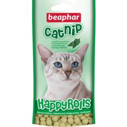 BEAPHAR Лакомство Happy Rolls Catnip с кошачьей мятой для кошек