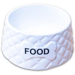 КерамикАрт Миска керамическая Food белая