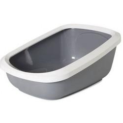 SAVIC Туалет для кошек ASEO JUMBO с бортом 67,5х48,5х28см