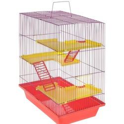 ЗооМарк Клетка для грызунов Гризли-4 комплект