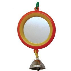 Дарэлл Зеркало для попугая с колокольчиком