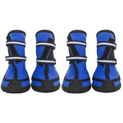 Smartpet Обувь для крупных собак на подошве Синие