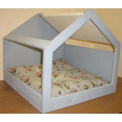 Smartpet Домик для кошек Прованс голубой