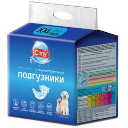 Cliny Подгузники для собак и кошек XXL 25-40кг