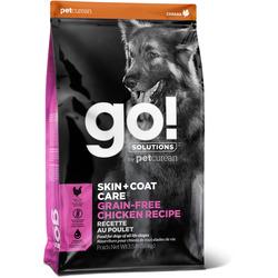 Сухой корм Go! Natural Holistic беззерновой для собак всех возрастов с Цельной Курицей (GO! SKIN + COAT Grain Free Chicken Recipe DF)