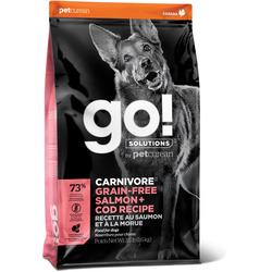 Сухой корм Go! Natural Holistic беззерновой для Собак всех возрастов c Лососем и Треской (GO! CARNIVORE GF Salmon + Cod Recipe DF)