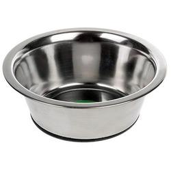 Beeztees Миска стальная с резиновым дном для собак и кошек