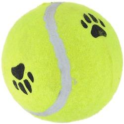 Beeztees Игрушка для собак Мячик теннисный, цвет желтый