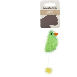 Beeztees Игрушка для кошек Мышь разноцветная