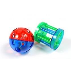 I.P.T.S./Beeztees Мяч погремушка с роликом