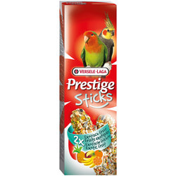 Versele-Laga Палочки для средних попугаев с экзотическими фруктами 2*70г