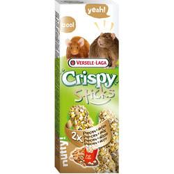 Versele-Laga Палочки для крыс и мышей с попкорном и орехами 2*55г