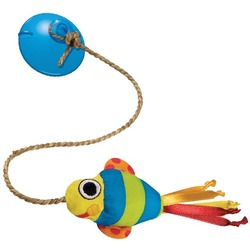 Petstages Игрушка для кошек Рыбка на присоске