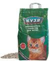 Кузя Впитывающий наполнитель для котят и короткошерстных пород кошек