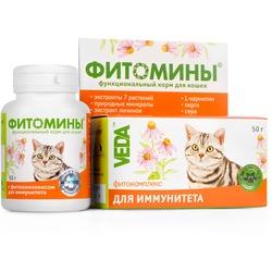 Фитомины Фитокомплекс для иммунитета кошек