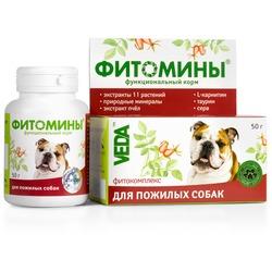 Фитомины Функциональный корм для пожилых собак