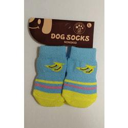 Антицарапки Носки для собак Голубые