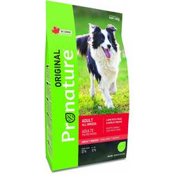 Сухой корм Pronature Original для собак Ягненок, горох и ячмень