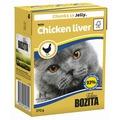 Bozita Tetra Recart Кусочки в желе с куриной печенью