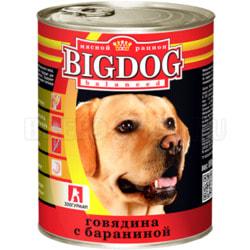 Консервы Зоогурман Big Dog для крупных собак Говядина с бараниной