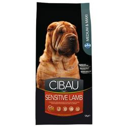 Сухой корм Cibau Sensitive Medium + Maxi для собак средних и крупных пород с Ягненком