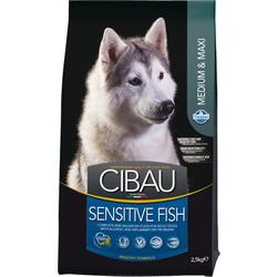 Сухой корм Cibau Sensitive Medium + Maxi для собак средних и крупных пород с Рыбой