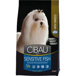 Сухой корм Cibau Sensitive Mini для собак мелких пород с Рыбой