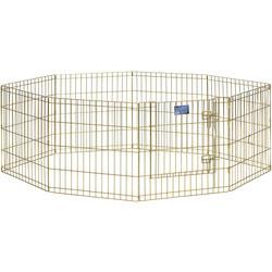 MidWest Вольер позолоченный с дверью 61х61см для щенков и мелких собак