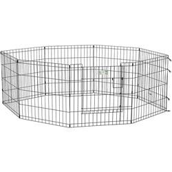 MidWest Вольер черный с дверью 61х61см для щенков и мелких собак