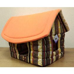 Бобровый дворик Домик для собак и кошек Избушка 62х52х47см