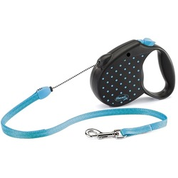 Поводок-рулетка flexi Color Small, трос 5 метров, для собак до 12 кг