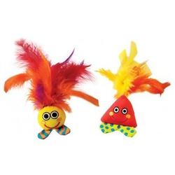 Petstages Игрушка для кошек с перьями