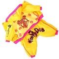 ForMyDogs Комбинезон теплый для мелких собак желтый на девочку