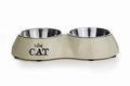 Beeztees Миска для кошек двойная Best Cat 26,5х15см
