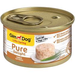 Консервы GimDog Pure Delight для собак из цыпленка в желе