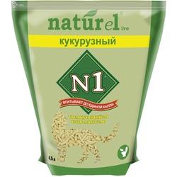 №1 Наполнитель комкующийся для кошек NATUReL Кукурузный