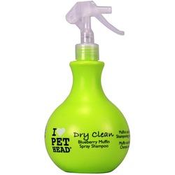 Pet Head Dry Clean - Шампунь-спрей без смывания черничный для Собак, без сульфатов и парабенов