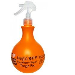 Pet Head DOG'S BFF Спрей-уход Клубнично-йогуртовый от колтунов и блеска шерсти собак, без сульфатов и парабенов