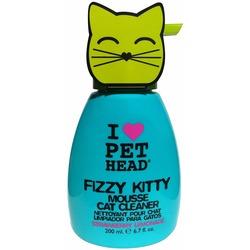 Pet Head Fizzy Kitty Клубнично-лимонадный шампунь-мусс без смывания для кошек