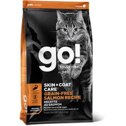 Сухой корм Go! Natural Holistic беззерновой для Котят и Кошек с Лососем (GO! SKIN + COAT Grain Free Salmon Recipe CF 30/14)