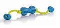 Beeztees Игрушка Гантель шипованная на веревке для ухода за зубами