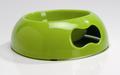 Beeztees Миска для собак пластиковая зеленая