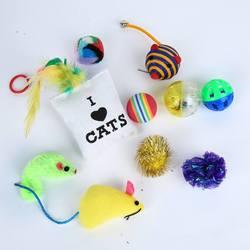 Smartpet Набор игрушек для котенка Веселый старт
