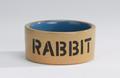 Beeztees Миска керамическая для кролика бежево-голубая