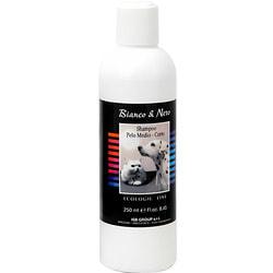 Iv San Bernard Black+White Шампунь для средней и короткой шерсти