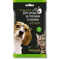 Teddy Pets Влажные салфетки для ухода за глазами и ушами