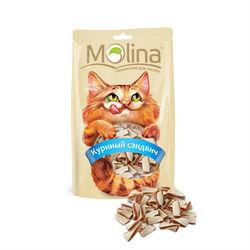 Molina Лакомство для кошек Куриный сэндвич