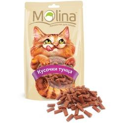 Molina Лакомство для кошек Кусочки тунца